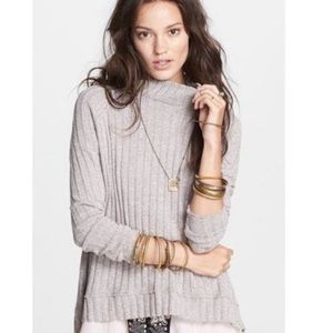 Free People Clarissa Mock Neck Sweater